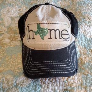 Texas home baseball hat
